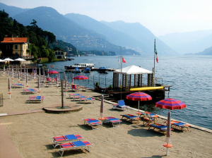 Lago di Como beaches